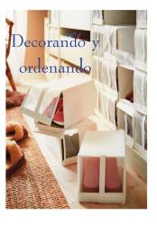 Decorando y orenando